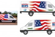"Island Harvest ""Operation Hope"" Van Graphics"