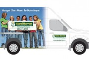 Island Harvest Delivery Van Graphics