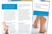 Pedinol Dry, Cracked Heel Booklet