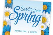 Swing into Spring Invitation